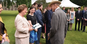Scotland's young people get their Gold at Holyrood Palace