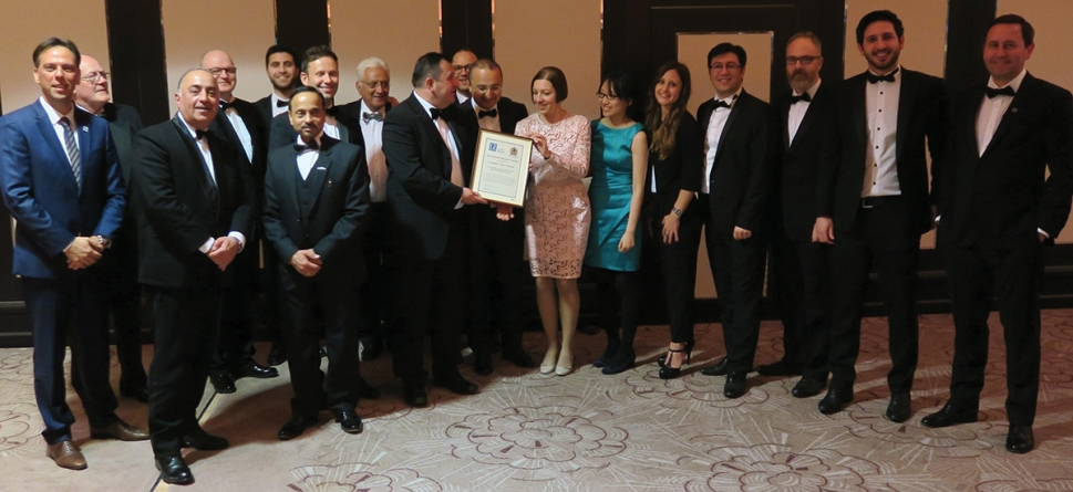 Scottish-led group wins top international honour for innovative maritime safety work