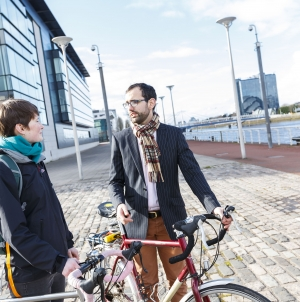 Cycling Scotland to improve workplace cycling facilities through development grant