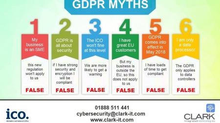 GDPR – The Truth behind the Myths