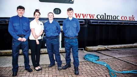 CalMac expands apprenticeship programme