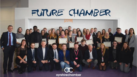 'Future chamber' launches as part of a big year of change at the Ayrshire chamber