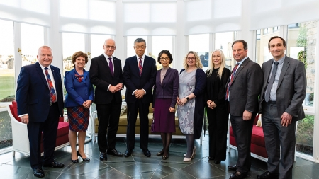 Chinese ambassador tells Scottish business it's time for action