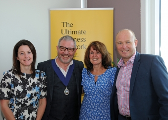 New President takes office at Inverclyde Chamber