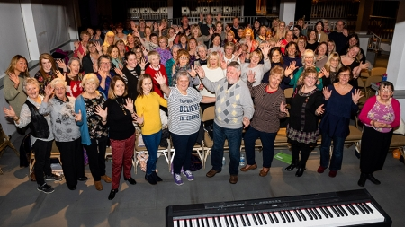 Communities take centre stage at Music Hall Stepping In opening celebrations