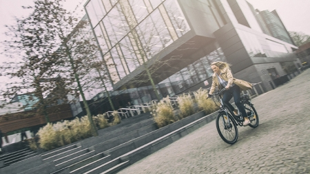 A new initiative encourages commuting by E-bike