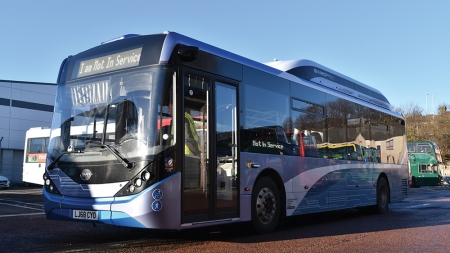 Xplore Dundee is getting a buzz from electric buses once again