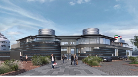 Landmark visitor centre for Inverclyde to be built at Greenock Ocean Terminal