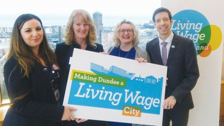 Dundee and Angus Chamber joins campaign to become a living wage city